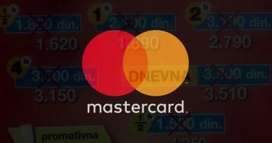 10% popusta uz Mastercard