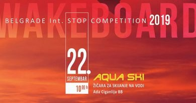 Belgrade International Stop Competition 2019